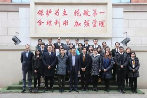 文協兩會北京考察文物保育